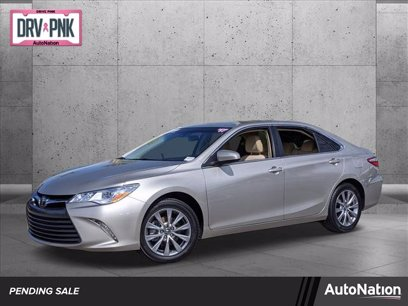 Photo Used 2017 Toyota Camry XLE V6 for sale