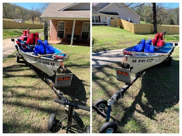 Photo 14 Foot Fishing Boat - $3,750 (Greenwood)