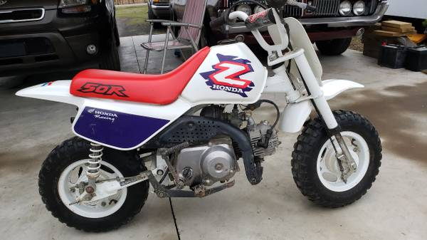 Photo 1996 honda z50r...one owner - $1500 (Alma)