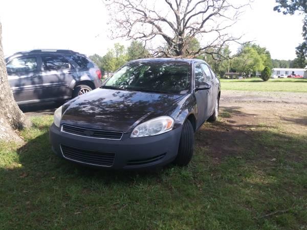 Photo 2008 Chevy Impala - $2,200 (Muldrow)