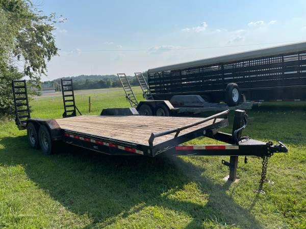 Photo 22 bumper pull trailer - $4,500 (Stigler Oklahoma)