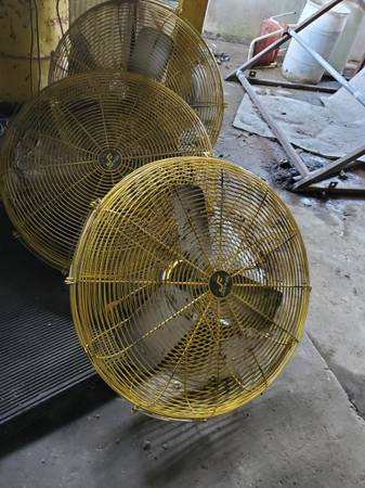 Photo 24quot fan for dispensary shops barns greenhouse warehouse Janfan - $100 (fort smith, ar)