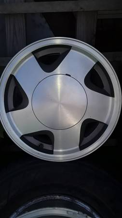 Photo 4 Chevy 16inch wheels-6 lug - $120 (Arkoma)