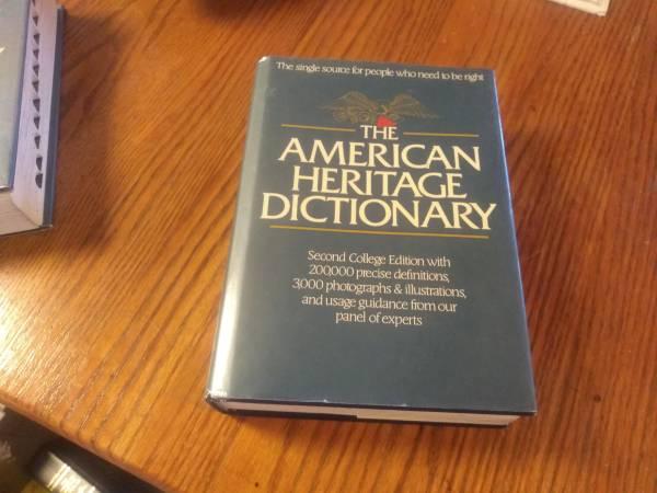 Photo American Heritage Dictionary - $10 (Catoosa)