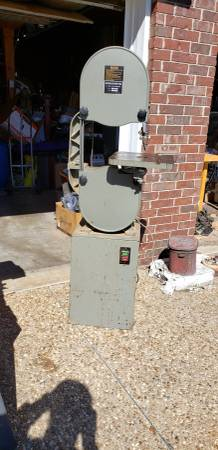 Photo Bandsaw 14 inch - $150 (Booneville)
