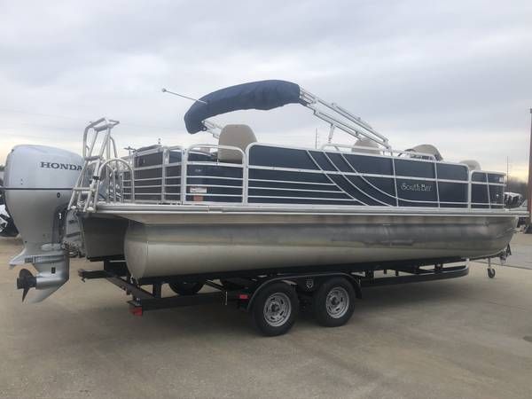 Photo CLEAN 2014 SOUTH BAY 522F FISHING PONTOON WITH 115HP HONDA 4 STROKE - $18129 (Rogers)