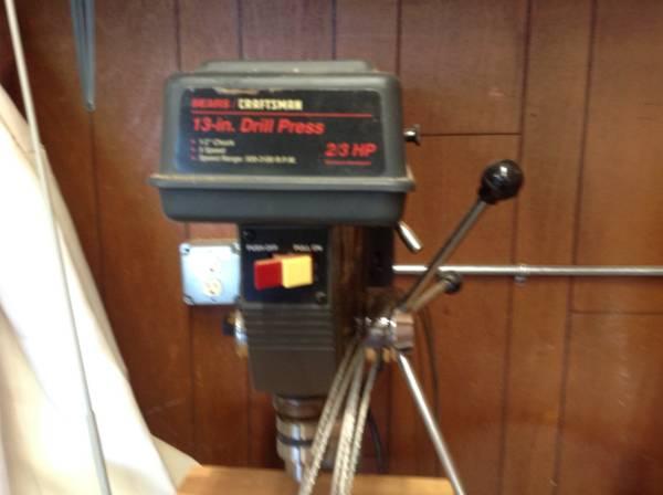Photo Craftsman 13 Floor Drill Press - $200 (Russellville)