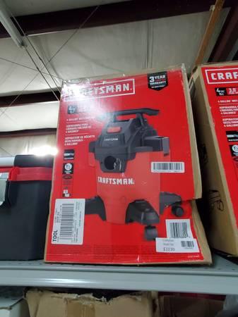Photo Craftsman Shop Vac NEW - $34 (Van Buren)