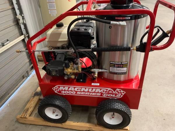 Photo Hot water Pressure Washer - $2550 (poteau Oklahoma)
