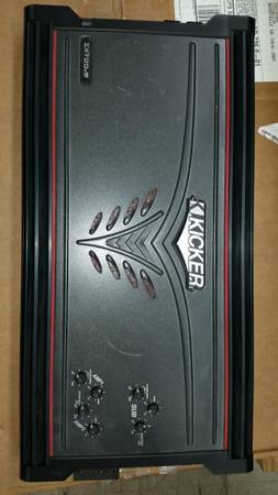 Photo Kicker zx700.5 car stereo  - $200 (BERRYVILLE)