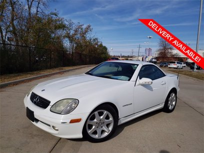 Photo Used 2001 Mercedes-Benz SLK 230  for sale