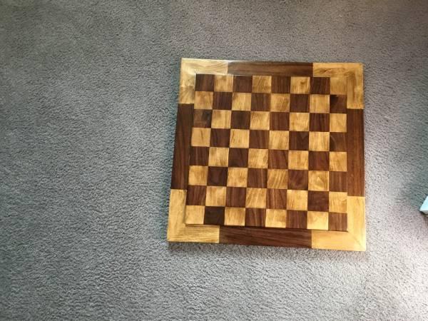 Photo Wooden Checker board - $55 (Bella Vista)