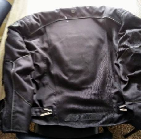 Photo XL Joe Rocket motorcycle jacket - $60 (FORT SMITH)