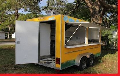 Photo -- THE 2011 FAST FOOD TRAILER  Very fresh -- - $800 (fort smith)