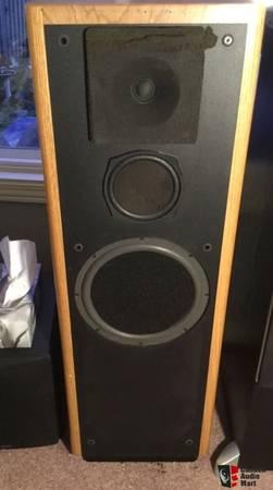 Photo higher end speakers, infinity, polk, paradigm - $123,456 (paris)