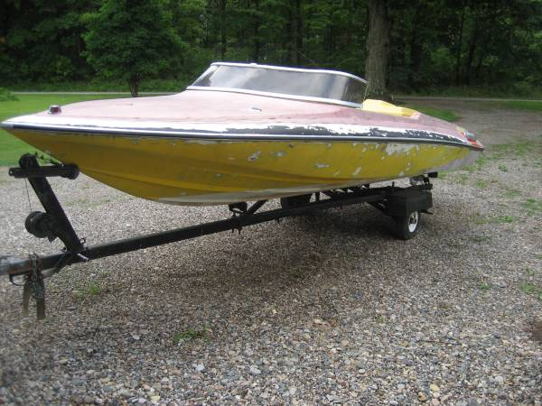 Photo 1973 Glastron CV 16 - $800 (Coldwater)