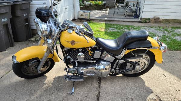 Photo 1998 Harley Davidson Fatboy - $6,500 (Fort Wayne)