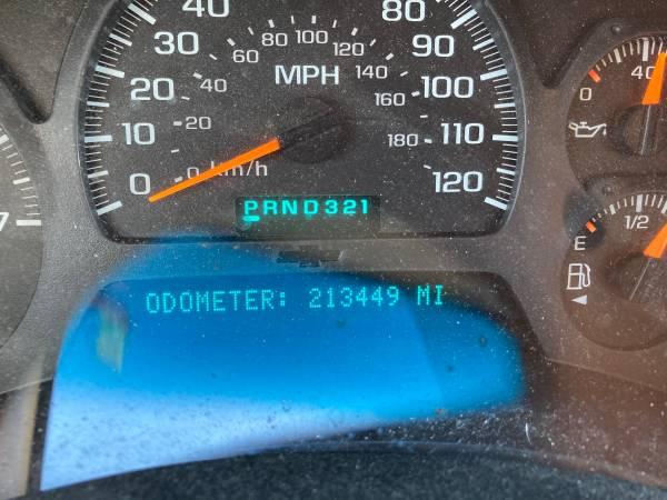 Photo 2003 Chevy Trail Bkazer - $1,500 (Zanesville)