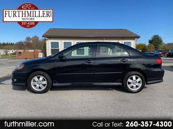 Photo 2007 Toyota Corolla S FWD 91,180 Miles Moon Roof No Reported Accidents - $6,780 (AuburnGarrett)