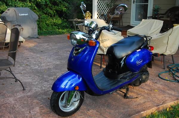 Photo 2007 Yamaha Vino 125 Scooter - $1,600 (Fort Wayne)
