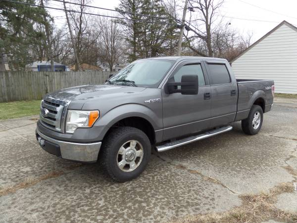 Photo 2010 Ford F150 Super Crew Cab XLT 6.5 Bed New Tires  Parts 90K Miles - $15,600 (Fort Wayne)