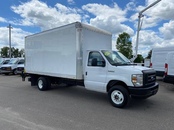 Photo 2019 Ford E-450 1639 Box Truck FACTORY WARRANTYLIKE NEW - $32800 (SWARTZ CREEK,MI)