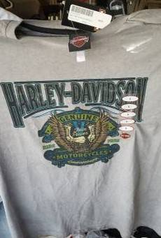 Photo Brand New With Tags Harley-Davidson Men39s Size L Premium T-Shirt,Offer (Fort Wayne)