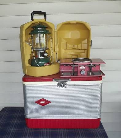 Photo Coleman Vintage Lantern - Cooler - Picnic Stove - $120 (Warsaw)