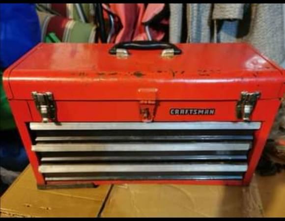 Photo Craftsman 3 drawer toolbox - $35 (New Haven)