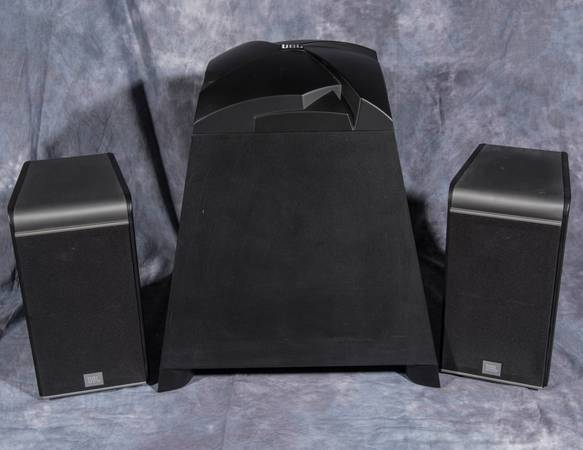 Photo JBL Speakers and JBL Subwoofer Used - $150 (Decatur)