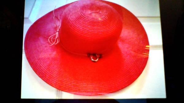 Photo Ladies Red Hat - $15 (NE Fort Wayne)