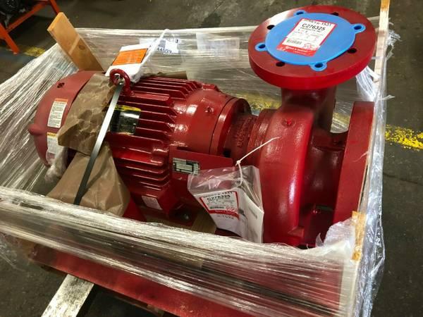 Photo NEW Bell  Gossett E-1531 6BD Pump with 40 hp Motor - $5,000 (Fort Wayne, IN)