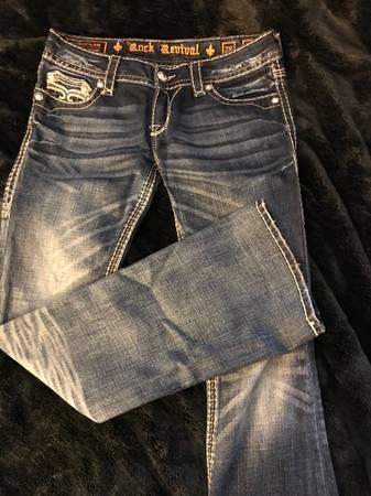 Photo Rock Revival boot cut jeans size 28 - $50