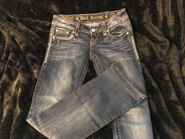 Photo Rock revival jeans size 28 - $50