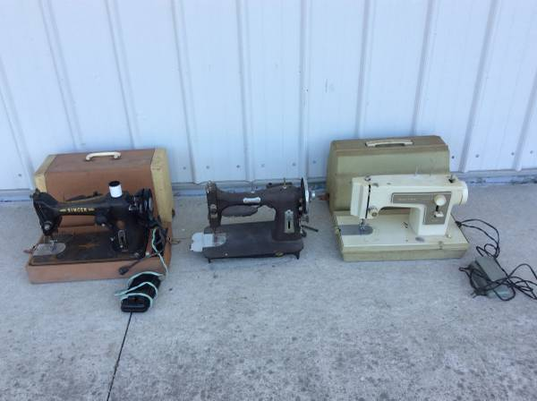 Photo Sewing Machines- Singer Sears Domestic (DecaturFt wayne, IN)