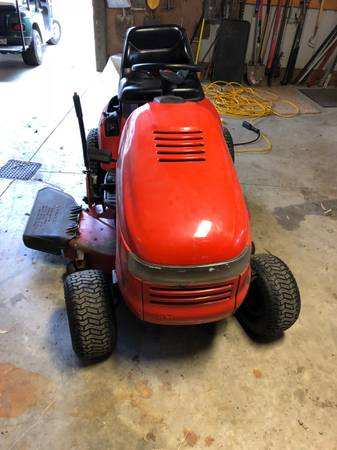 Photo Simplicity Rider Lawn Mower - $850 (New Haven, IN)