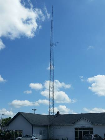 Photo TV antenna, cell, internet, ham towers for sale, 60, 90, 100, 150 foot - $1,200 (Monticello)