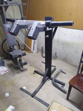 Photo Weight lifting squat rack machine - $150 (Decatur)