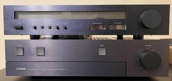Photo Yamaha A-1 Amplifier T-1 Tuner Vintage Vinyl 4 turntable - $300 (Angola)