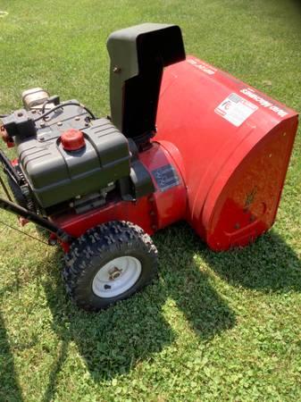 Photo Yard Machines Snowblower - $275 (Fort Wayne)