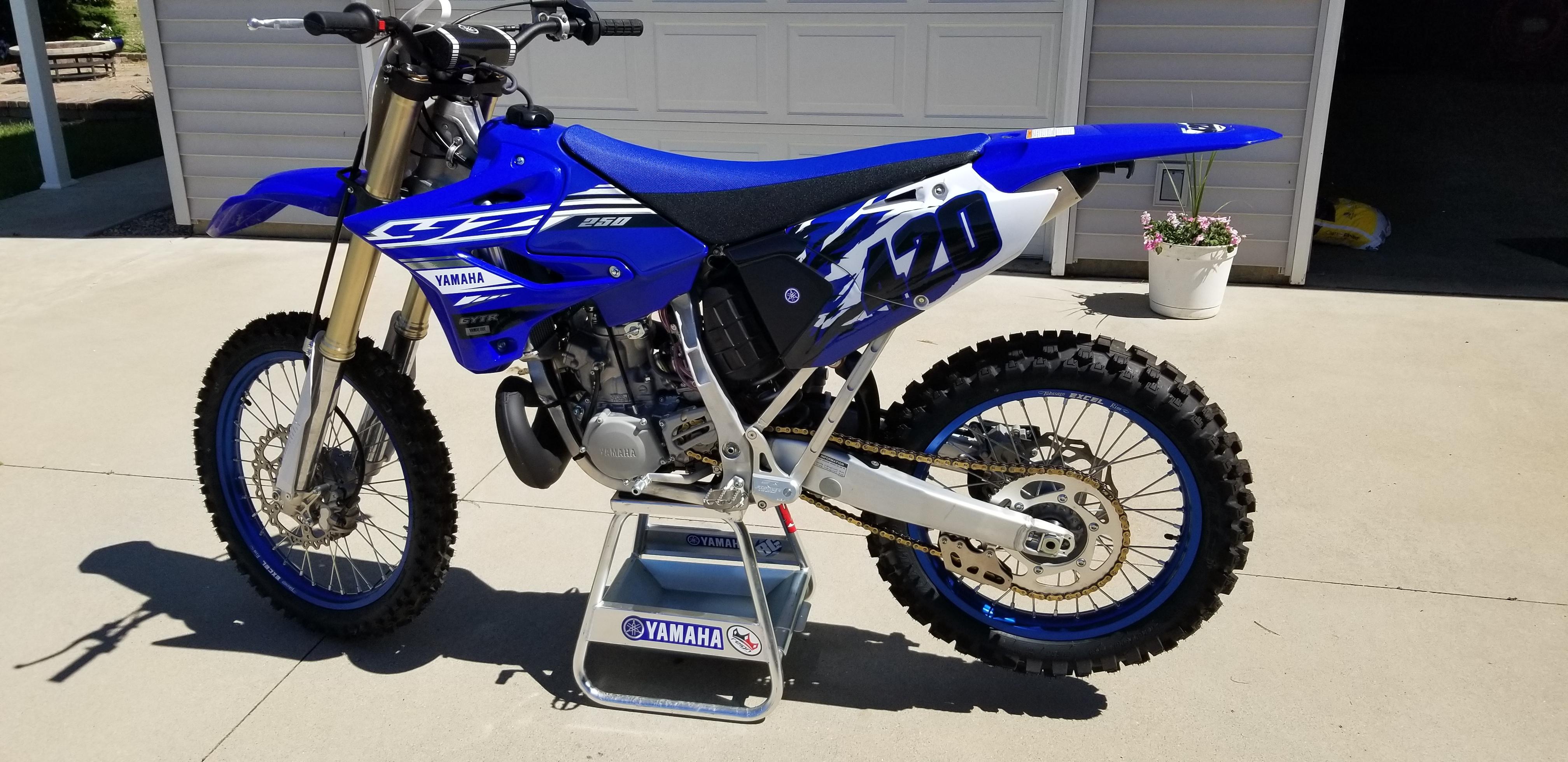 Photo Used 2019 Yamaha Competition Motorcycle  $8000