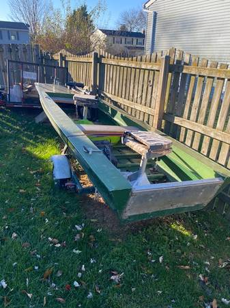 Photo 14 Jon Boat for Sale w trailer - $1,000 (Frederick)