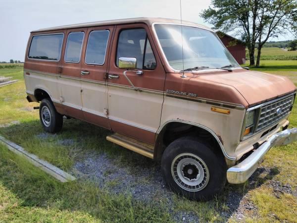 Photo 1990 Ford E250 Cargo Passenger Van - $4,500 (Frederick MD)