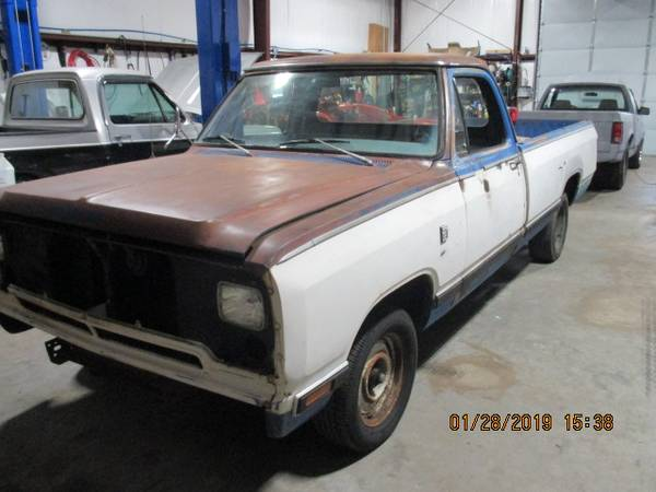 Photo 81 Dodge Ram 150 2wd - $2,000 (union bridge)