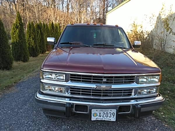 Photo 94 Chevy Silverado 2500 4x4 Md insp - $8,500 (Boonsboro Maryland)