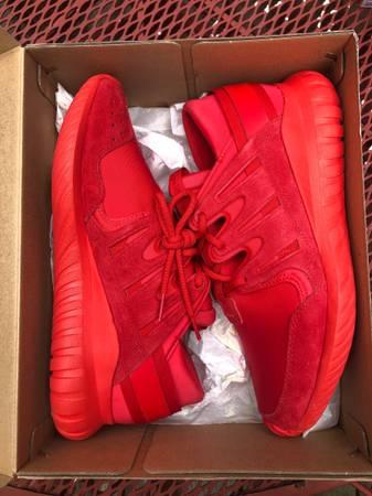Photo Adidas Tubular Nova Red October shoes - $35 (Monrovia)