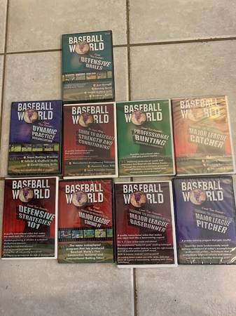 Photo Baseball World Series (NEW) 9 DVD - $70 (New Market)