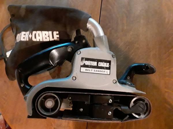 Photo Belt Sander Porter-Cable 352VS - $60 (Baltimore)