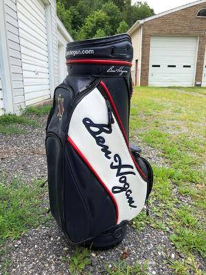 Photo Ben Hogan Leather Golf Bag, like new - $250