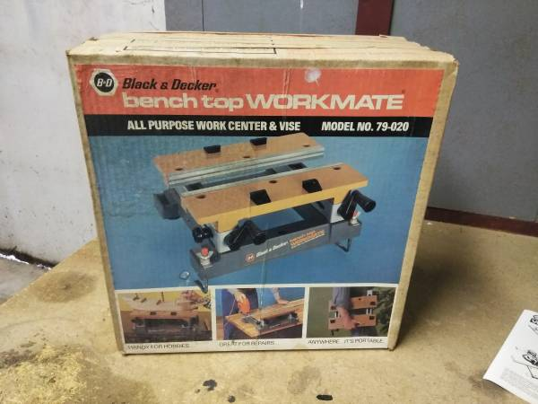 Photo Black  Decker Workmate Bench Top Model 79-020 - $80 (Manchester)